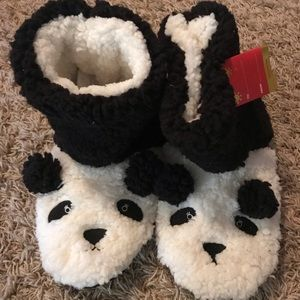 NWT panda house shoes